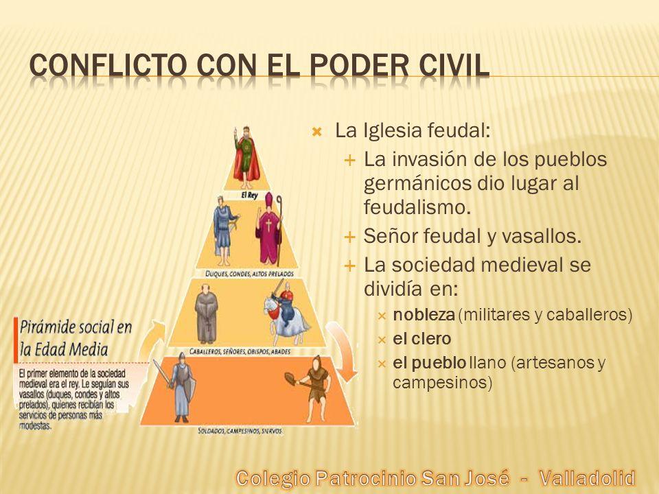 Conflicto con el poder civil