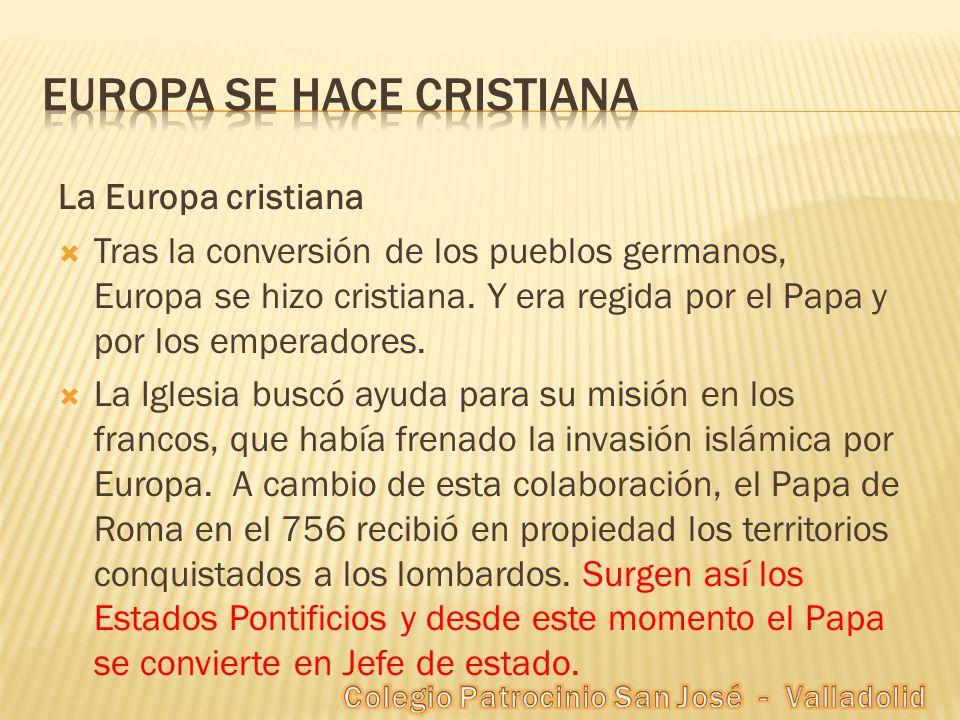 Europa se hace cristiana