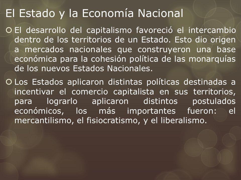 El Estado y la Economía Nacional