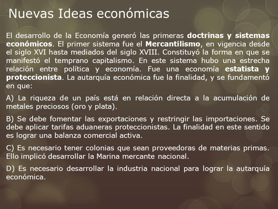 Nuevas Ideas económicas