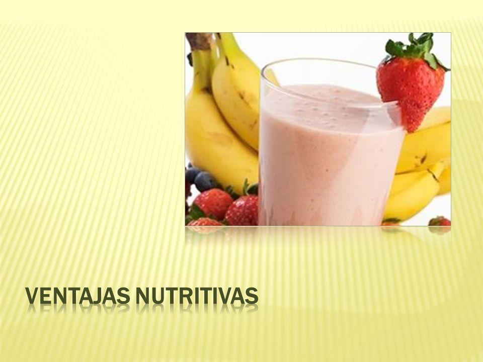 Ventajas nutritivas
