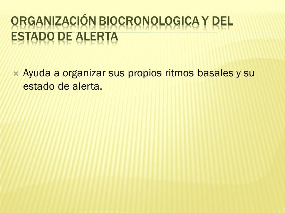 Organización biocronologica y del estado de alerta