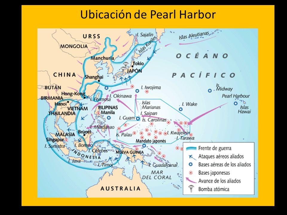 Ubicación de Pearl Harbor