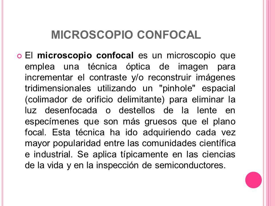 MICROSCOPIO CONFOCAL