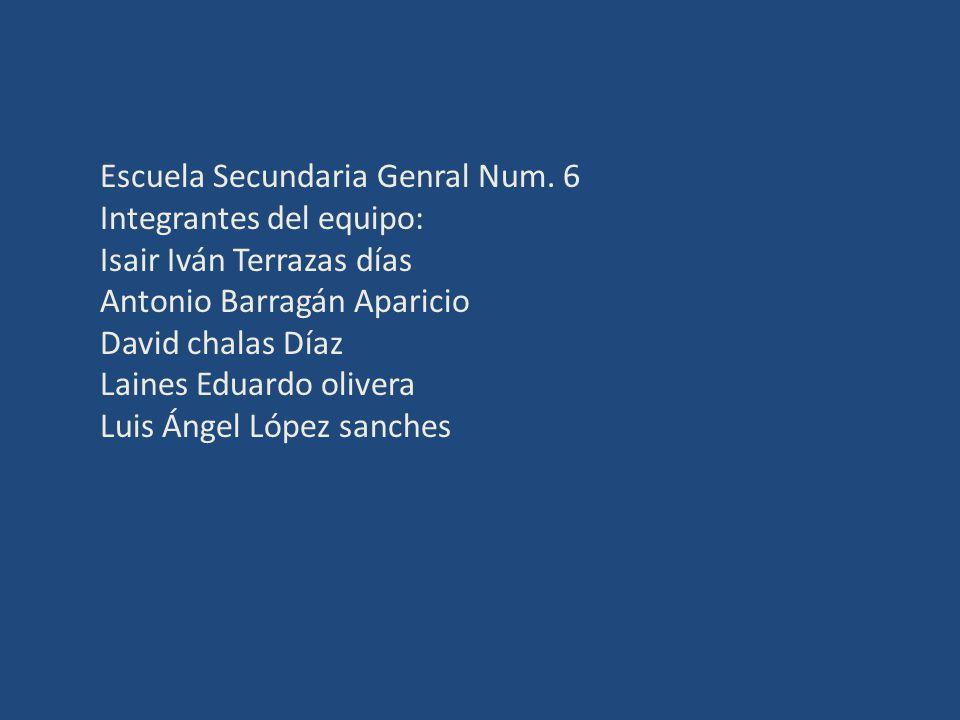 Escuela Secundaria Genral Num. 6