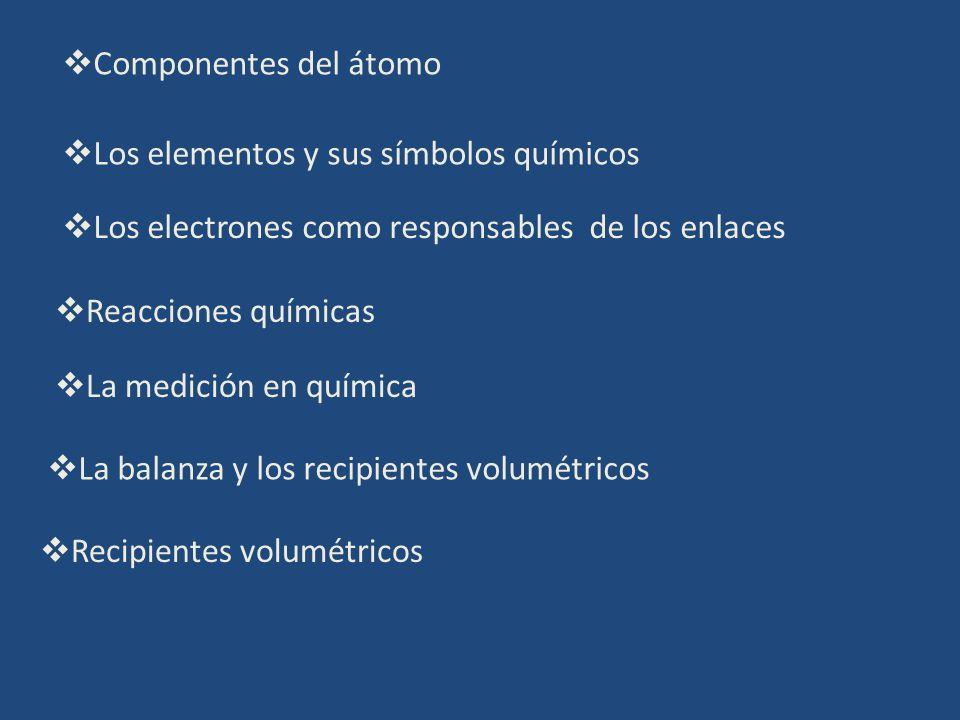 Los electrones como responsables de los enlaces