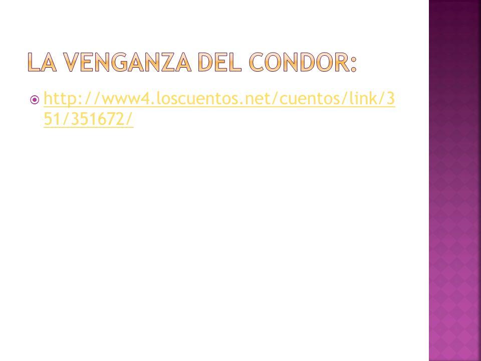 LA VENGANZA DEL CONDOR: