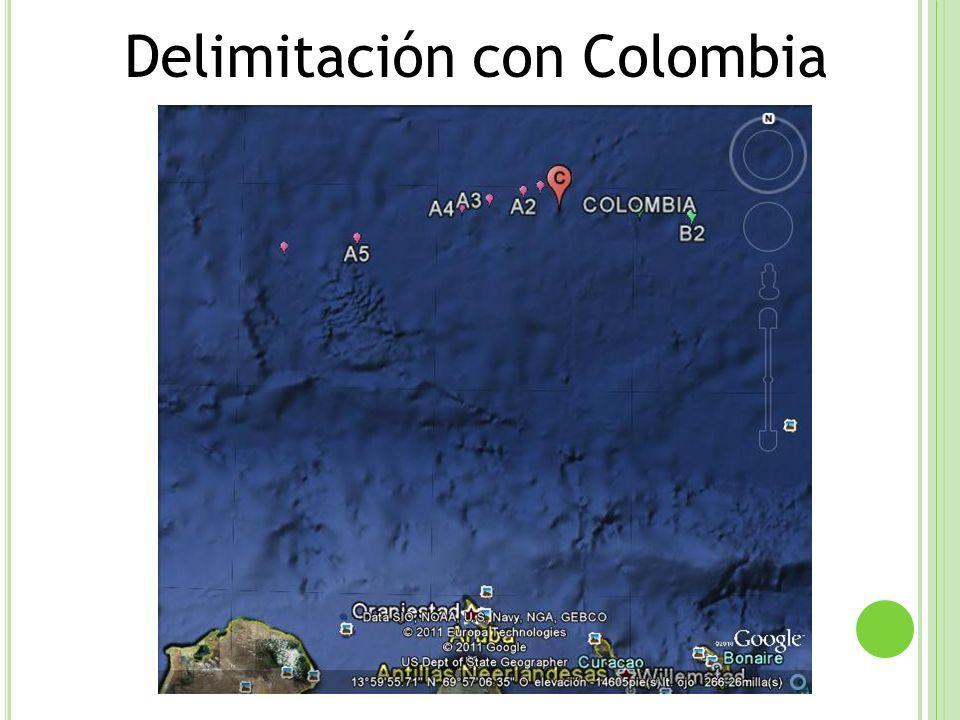 Delimitación con Colombia