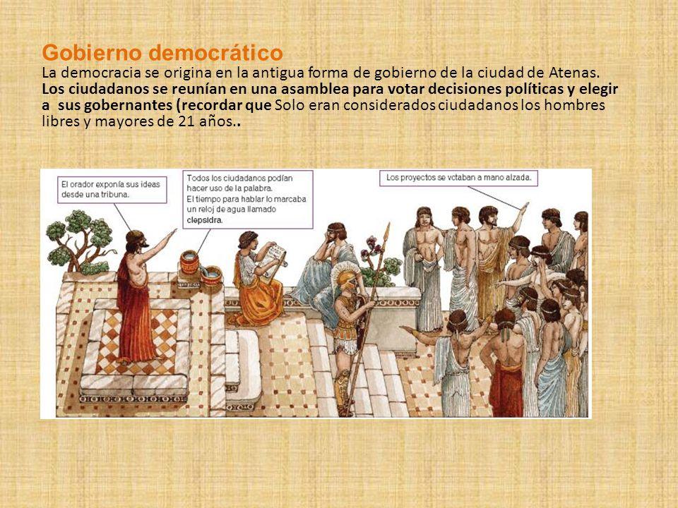 Gobierno democrático