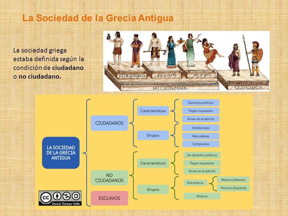 La Sociedad de la Grecia Antigua