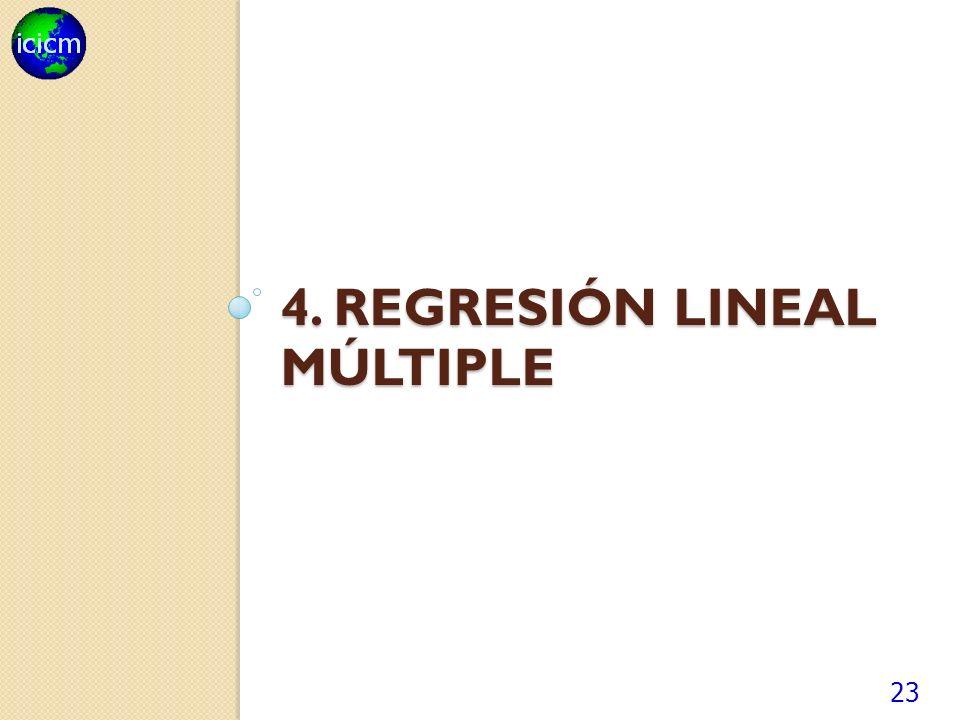 4. regresión lineal múltiple