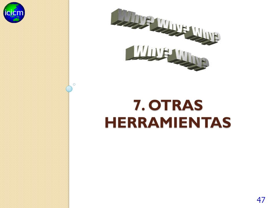 7. otras herramientas