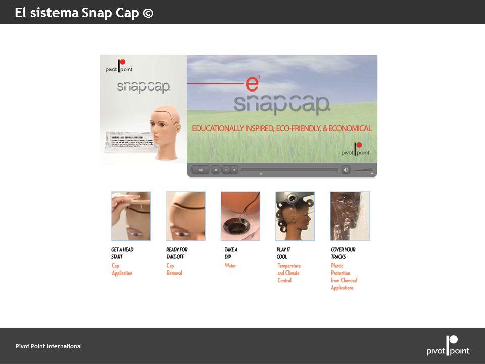 El sistema Snap Cap © Explain what you find under each category/button.