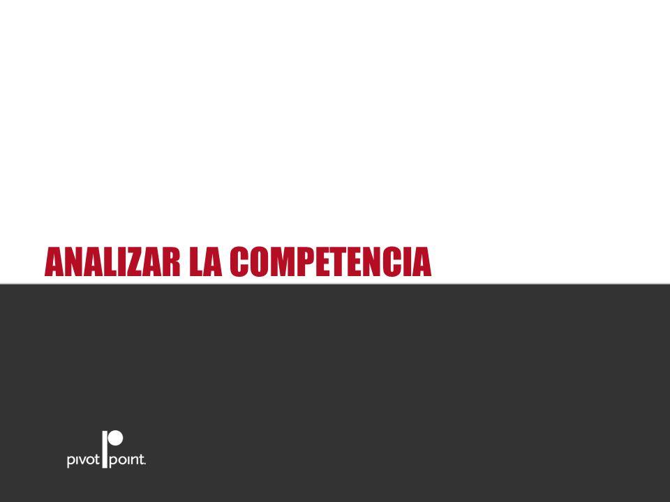 ANALIZAR LA COMPETENCIA