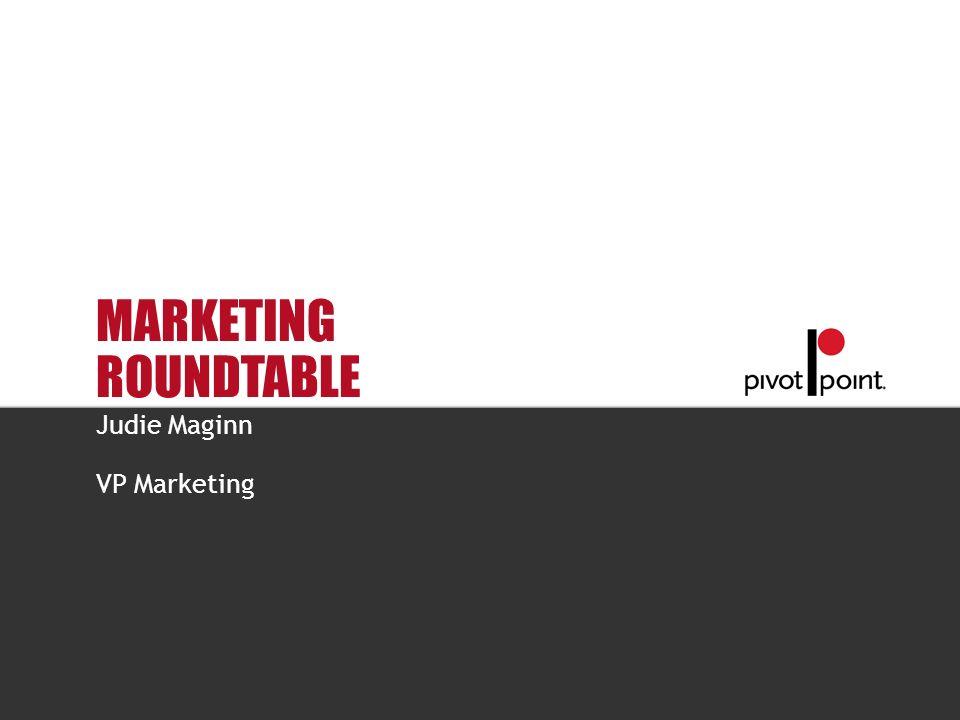 Judie Maginn VP Marketing