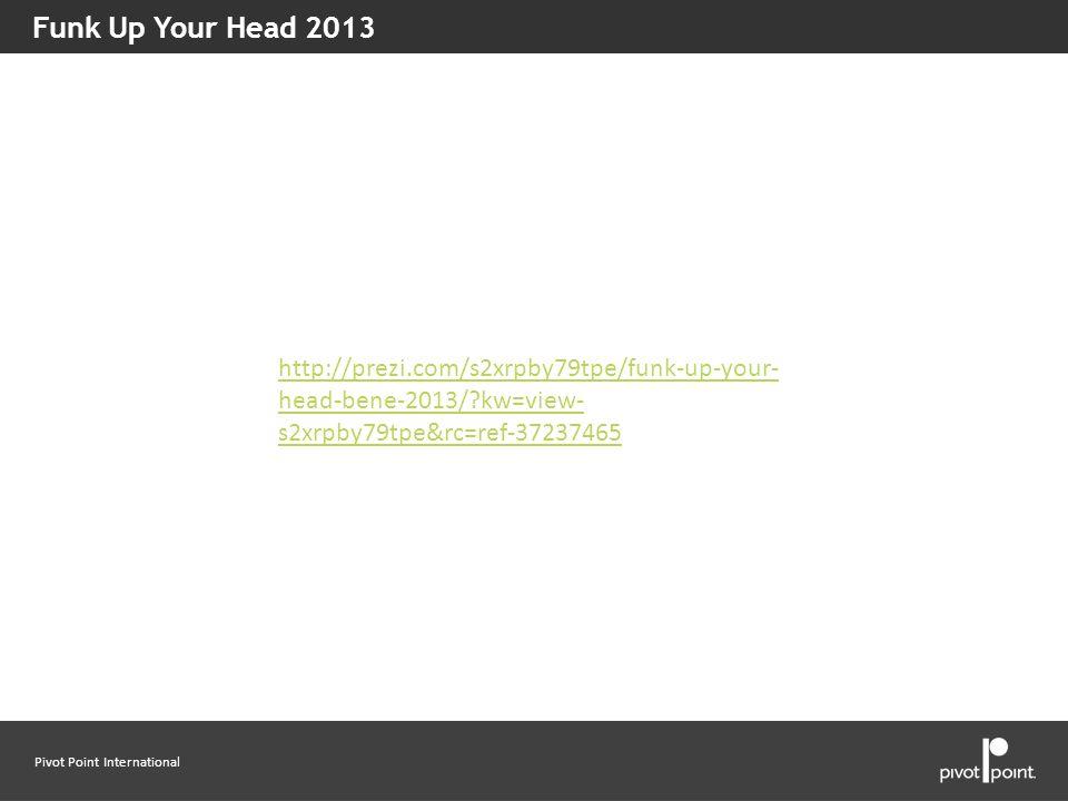 Funk Up Your Head 2013 http://prezi.com/s2xrpby79tpe/funk-up-your-head-bene-2013/ kw=view-s2xrpby79tpe&rc=ref-37237465.