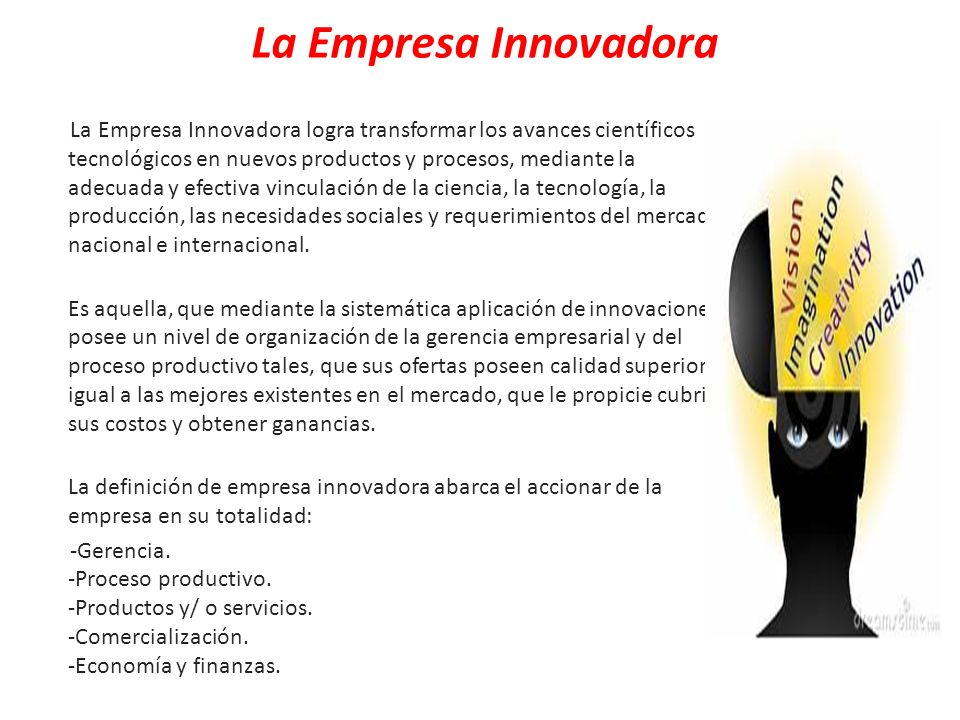 La Empresa Innovadora
