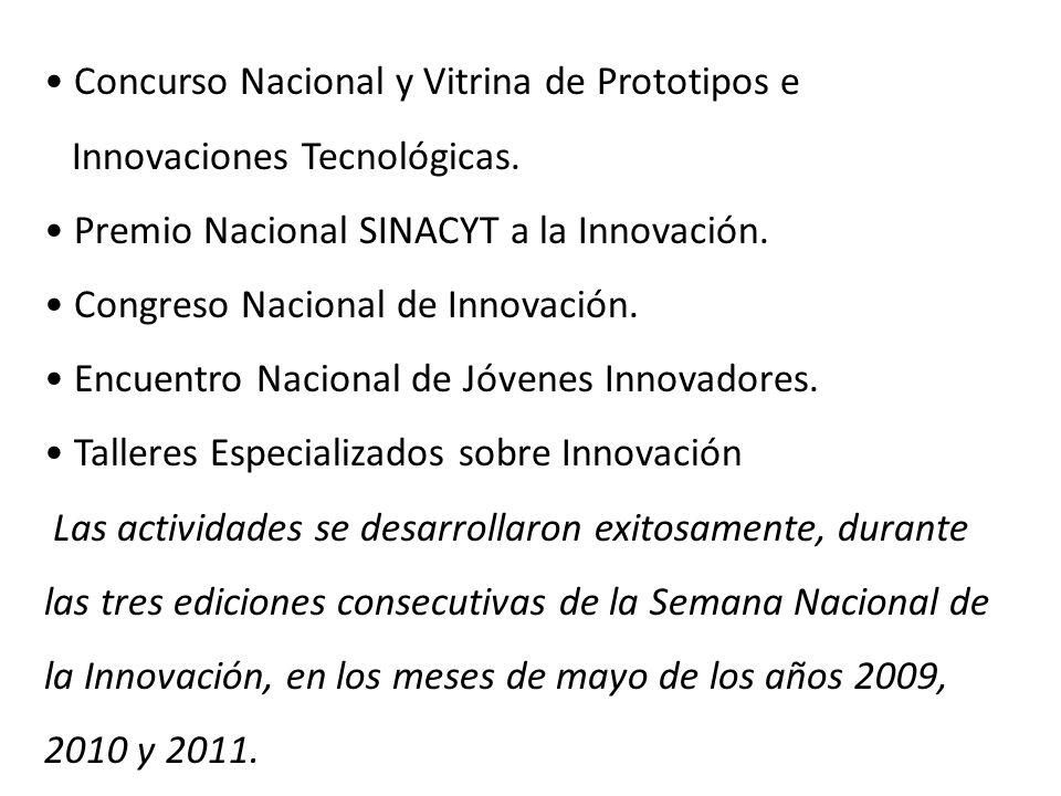 Concurso Nacional y Vitrina de Prototipos e