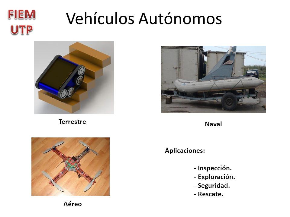 Vehículos Autónomos FIEMUTP Terrestre Naval Aplicaciones: