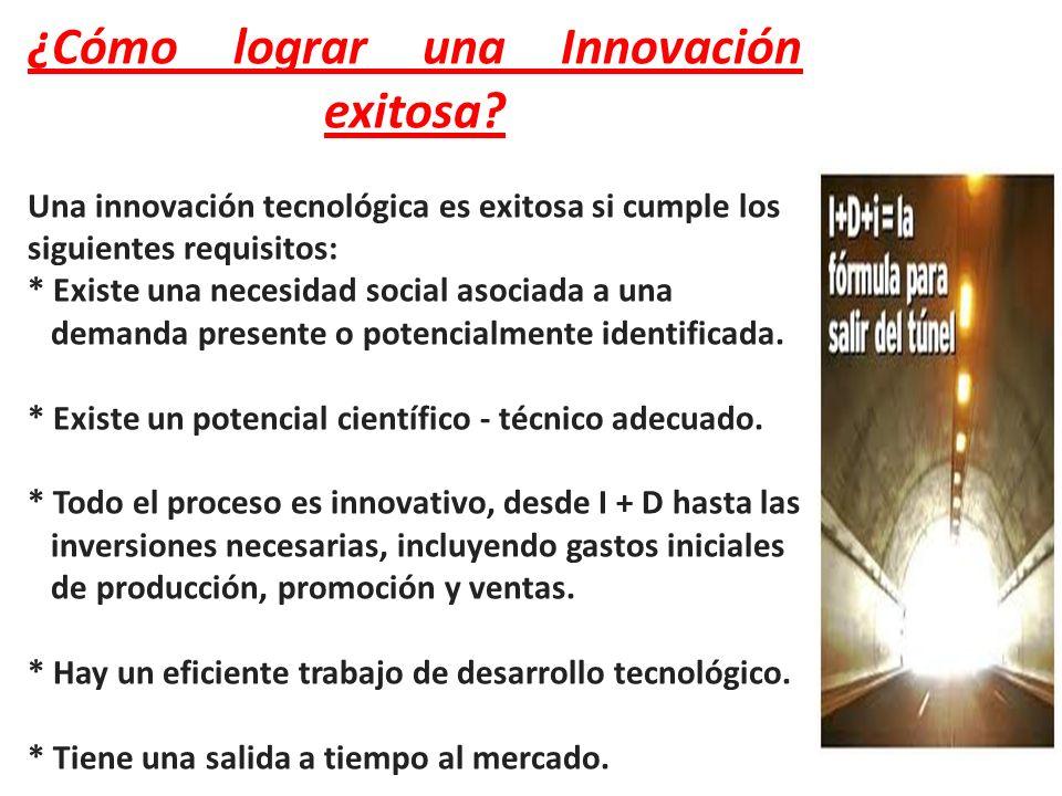 ¿Cómo lograr una Innovación exitosa