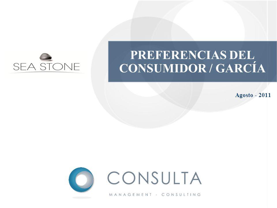 PREFERENCIAS DEL CONSUMIDOR / GARCÍA
