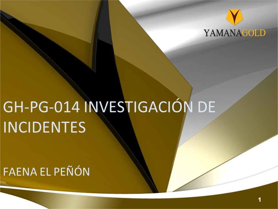GH-PG-014 INVESTIGACIÓN DE INCIDENTES
