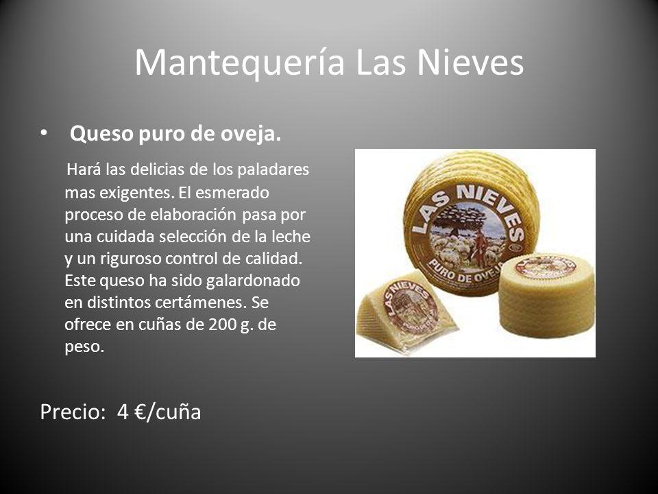 Mantequería Las Nieves