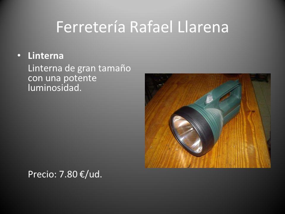 Ferretería Rafael Llarena