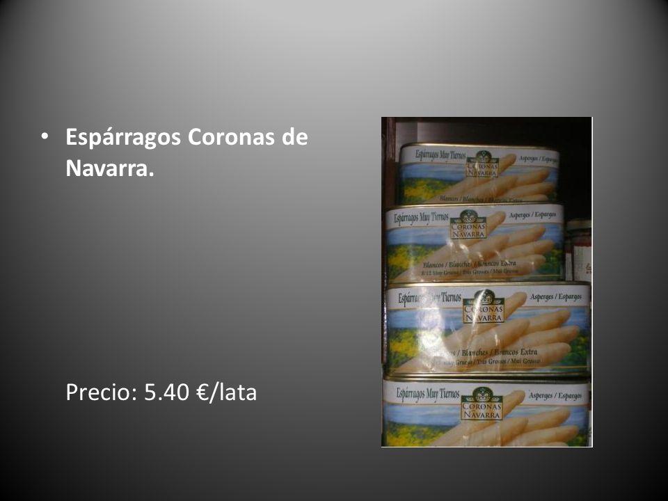 Espárragos Coronas de Navarra.