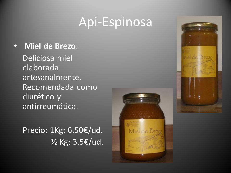 Api-Espinosa Miel de Brezo.