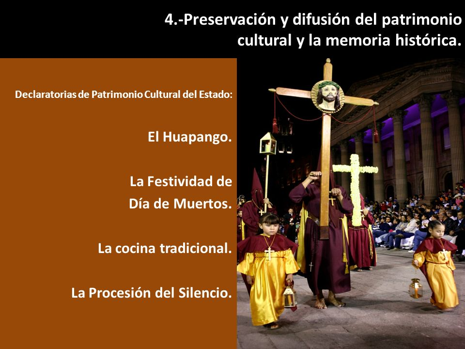 Declaratorias de Patrimonio Cultural del Estado: