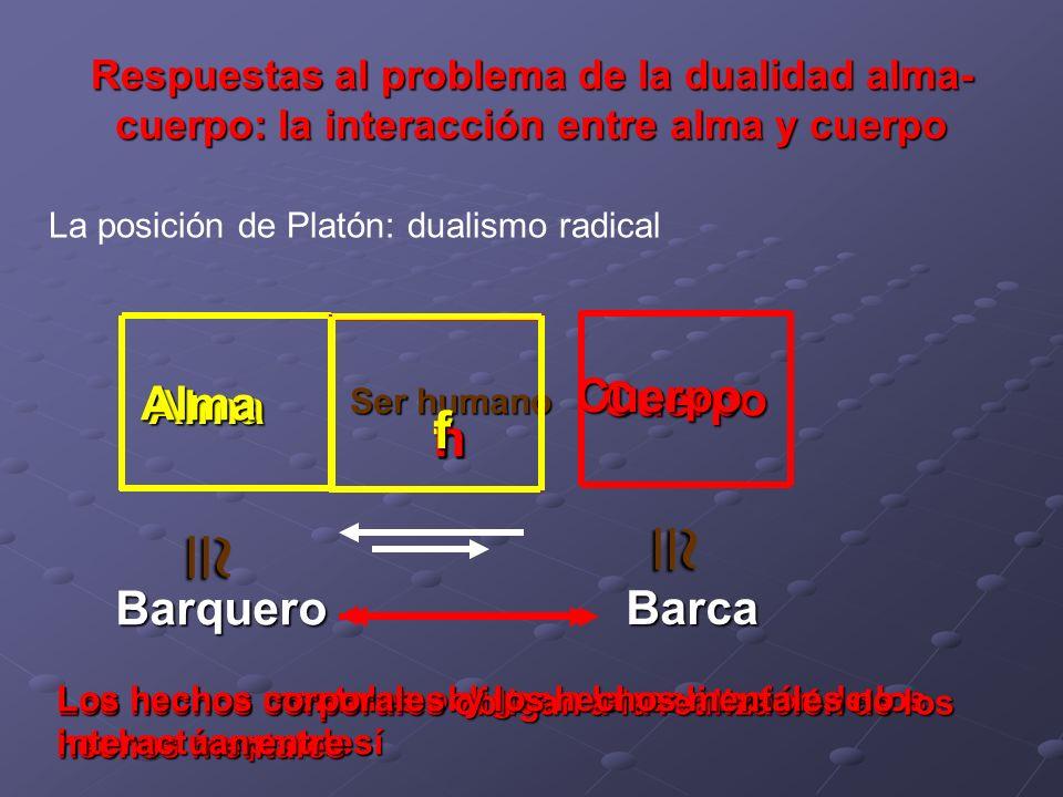  f h h f Cuerpo Cuerpo Alma Alma Barquero Barca