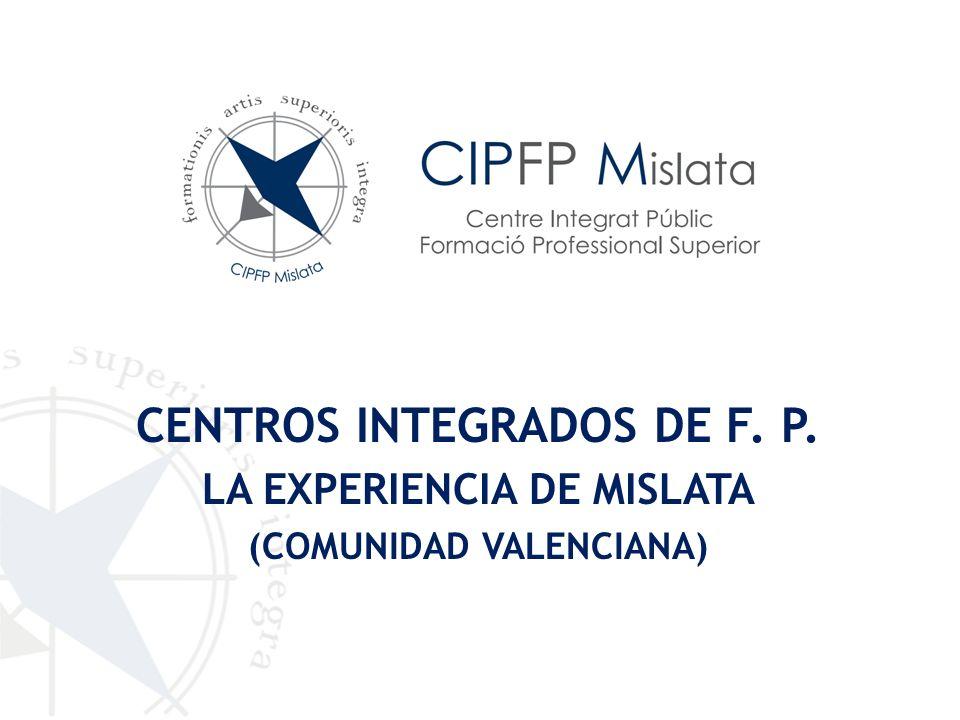 CENTROS INTEGRADOS DE F. P.