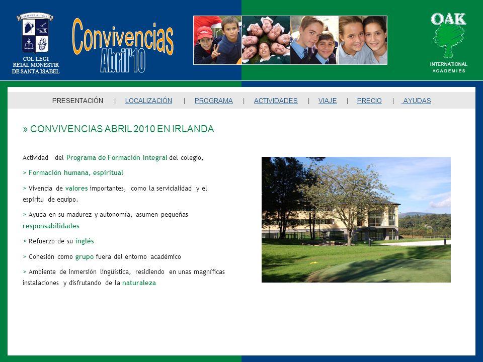 Convivencias Abril 10 » CONVIVENCIAS ABRIL 2010 EN IRLANDA