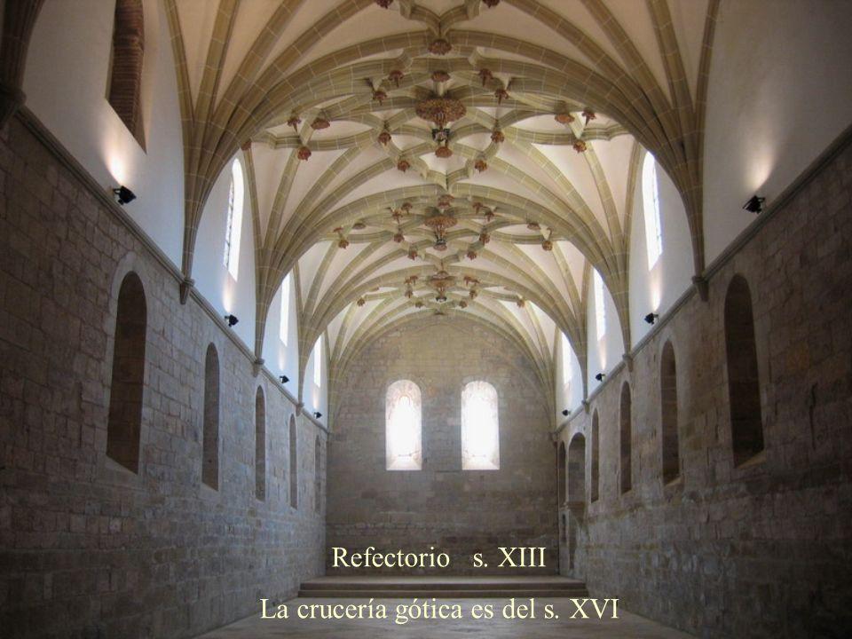 La crucería gótica es del s. XVI