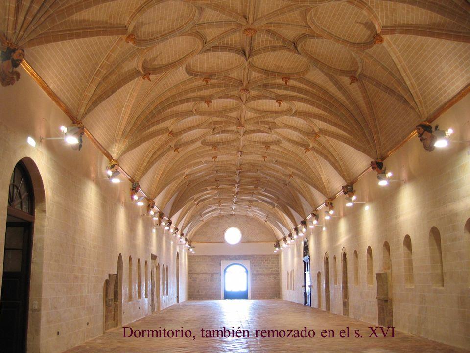 Dormitorio, también remozado en el s. XVI