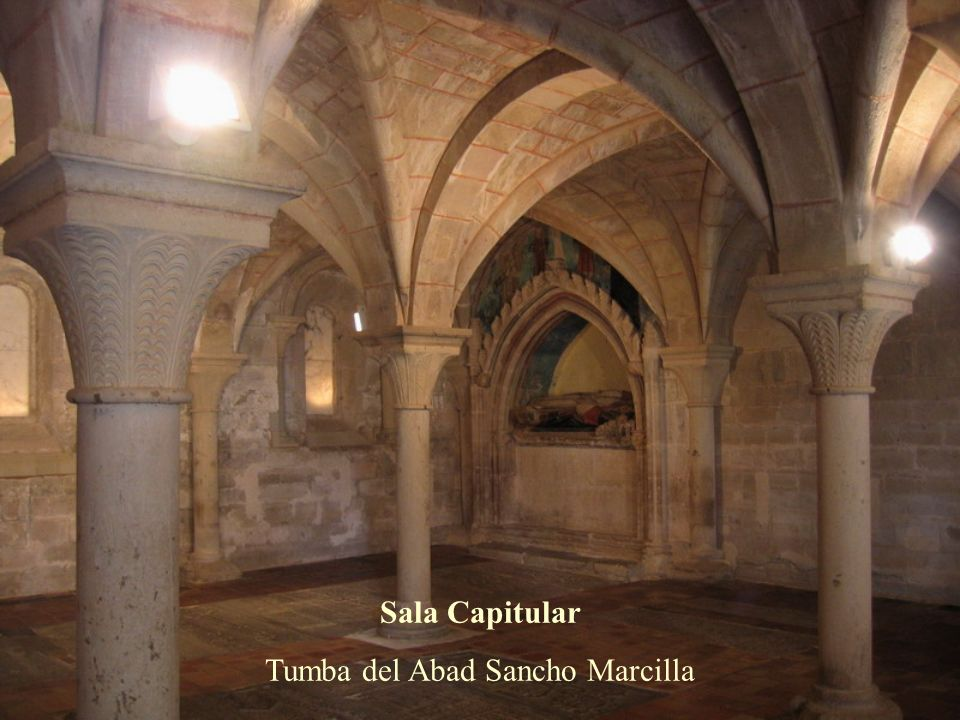 Tumba del Abad Sancho Marcilla