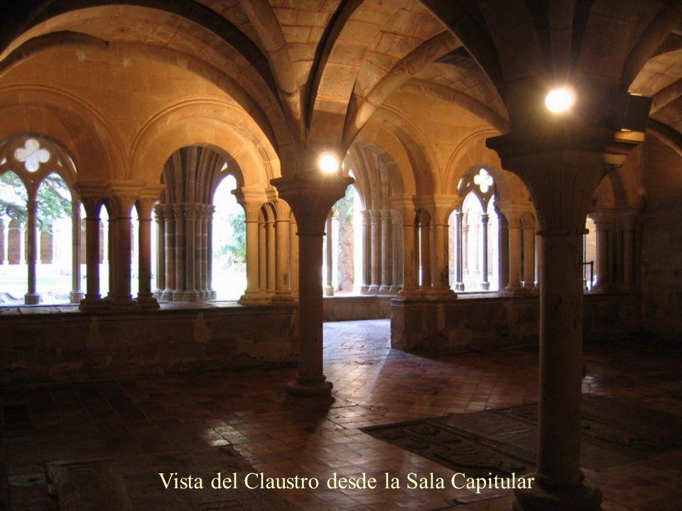 Vista del Claustro desde la Sala Capitular