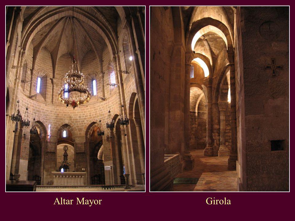 Altar Mayor Girola