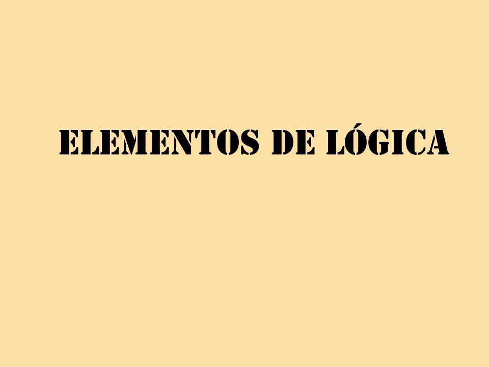 Elementos de lógica
