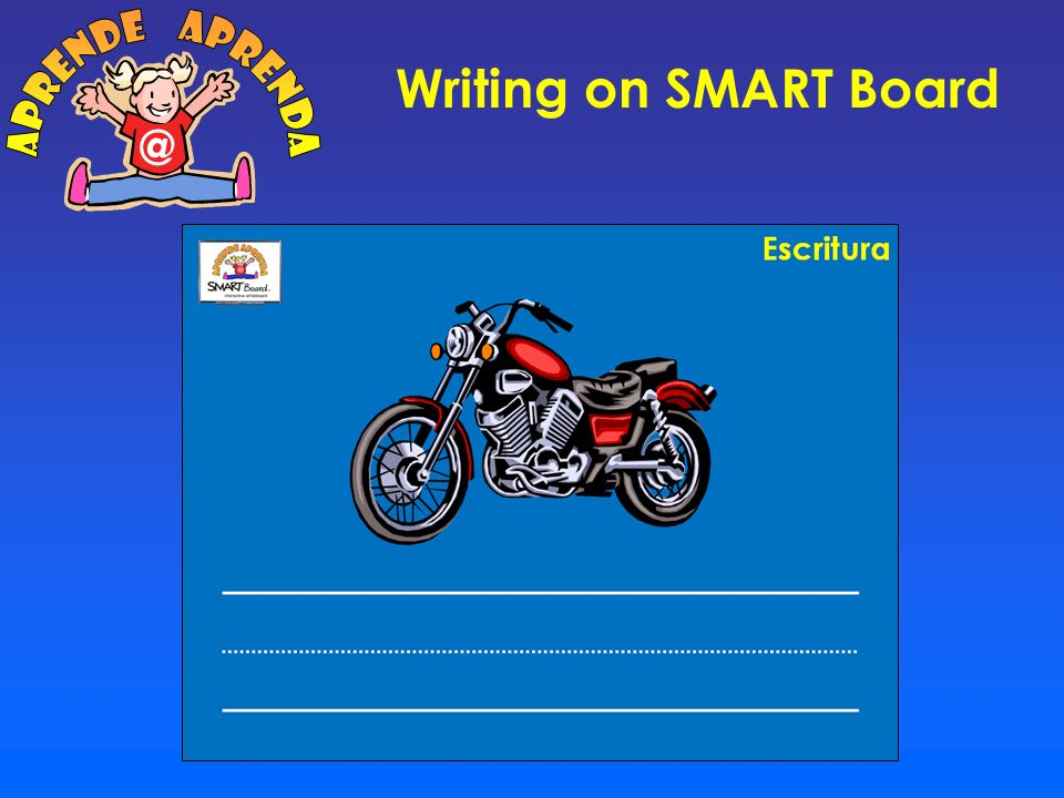 aprende aprenda @ Writing on SMART Board