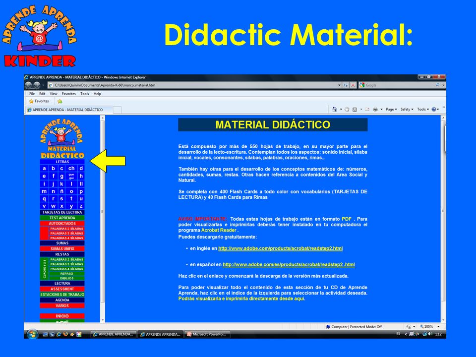 Didactic Material: