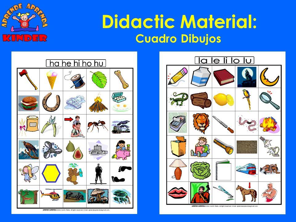 Didactic Material: Cuadro Dibujos