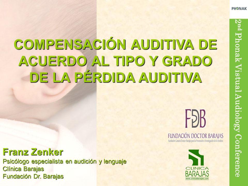 COMPENSACIÓN AUDITIVA DE ACUERDO AL TIPO Y GRADO DE LA PÉRDIDA AUDITIVA