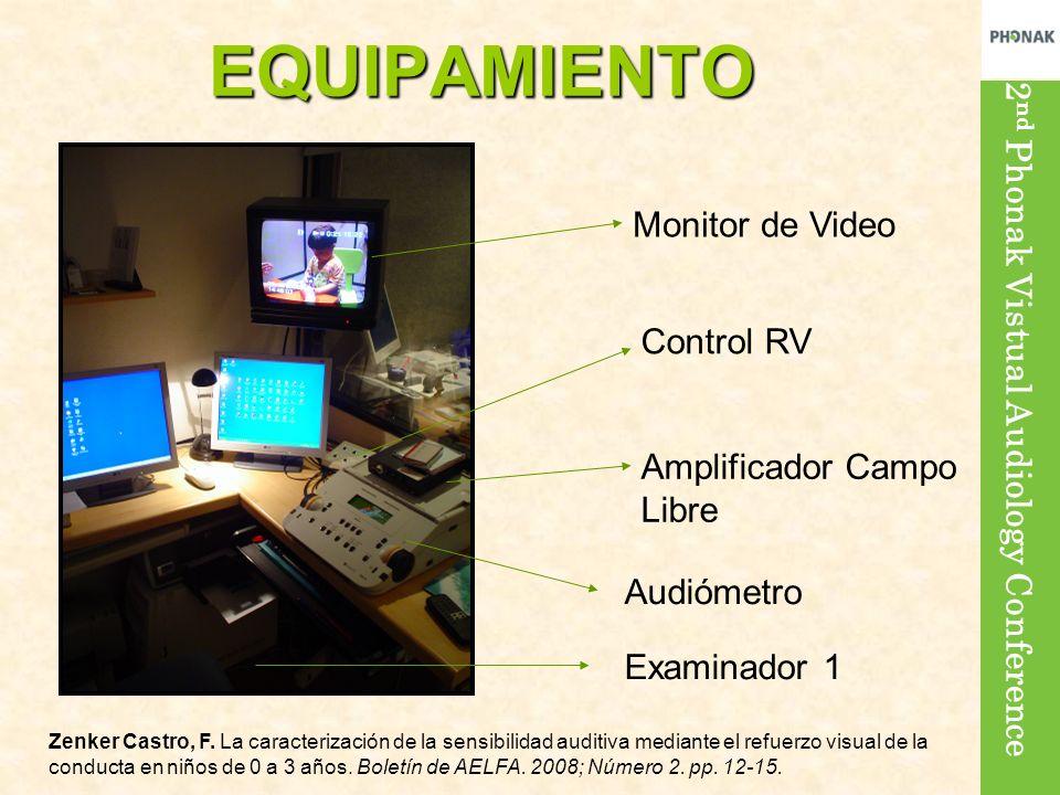 EQUIPAMIENTO Monitor de Video Control RV Amplificador Campo Libre