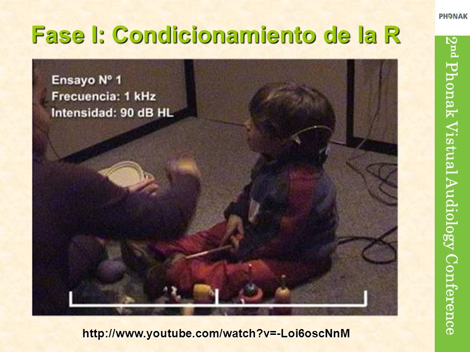 Fase I: Condicionamiento de la R