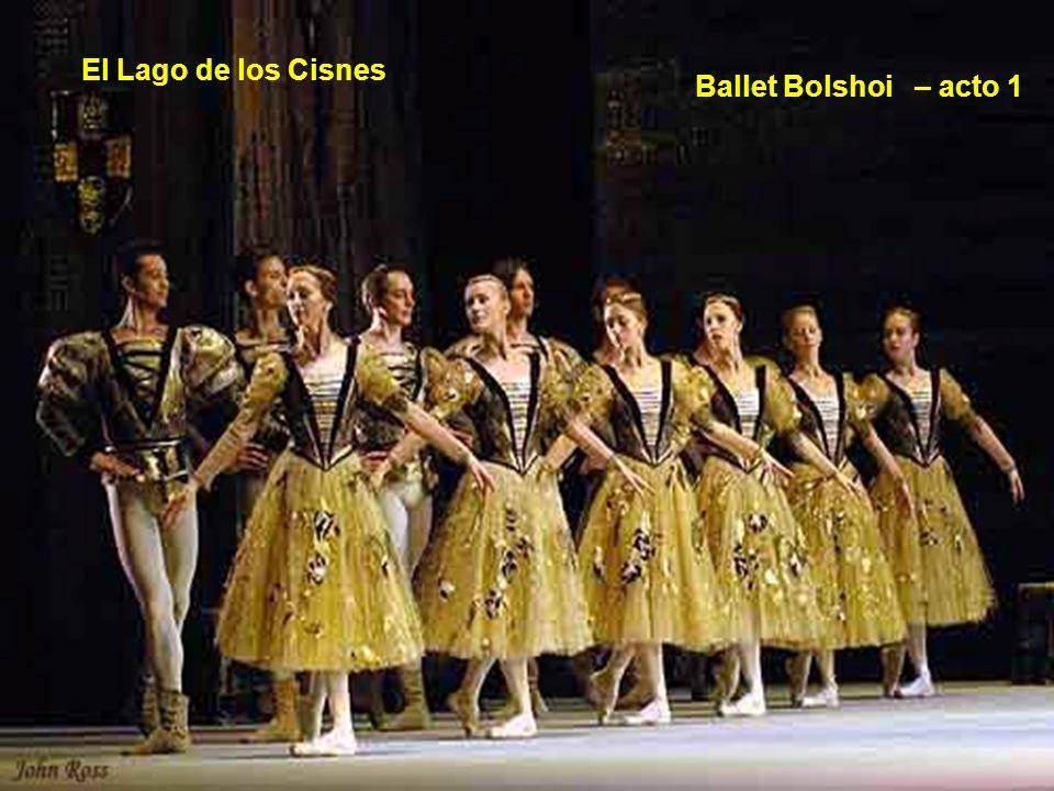 El Lago de los Cisnes Ballet Bolshoi – acto 1