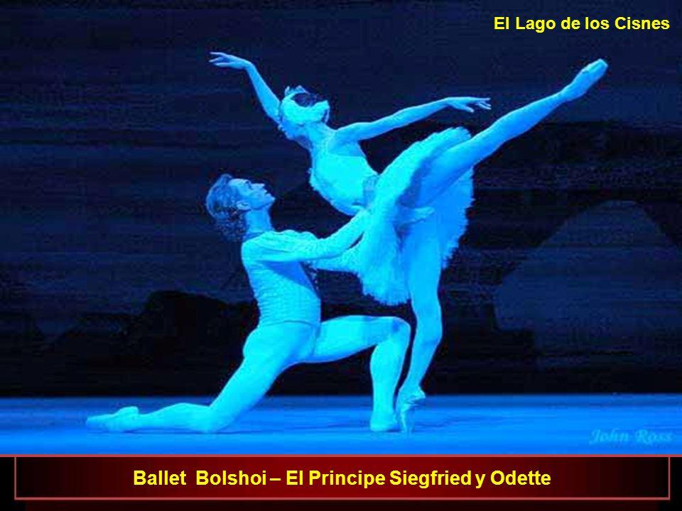 El Lago de los Cisnes Ballet Bolshoi – El Principe Siegfried y Odette