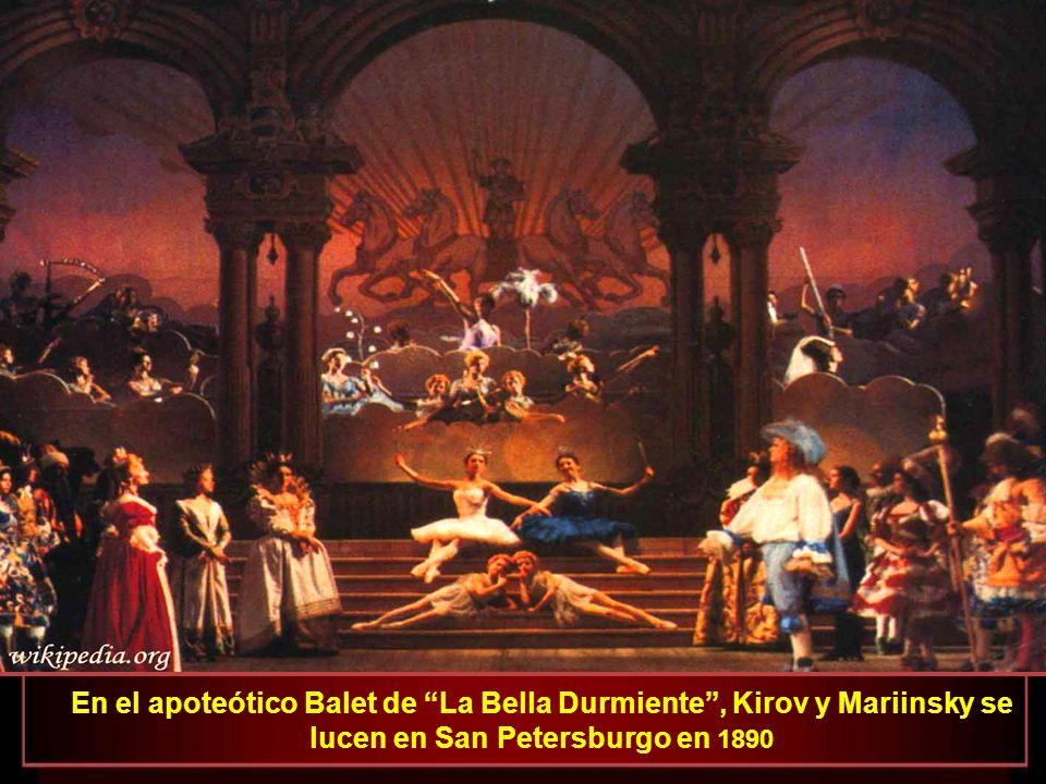 La Bella Durmiente En el apoteótico Balet de La Bella Durmiente , Kirov y Mariinsky se lucen en San Petersburgo en 1890.