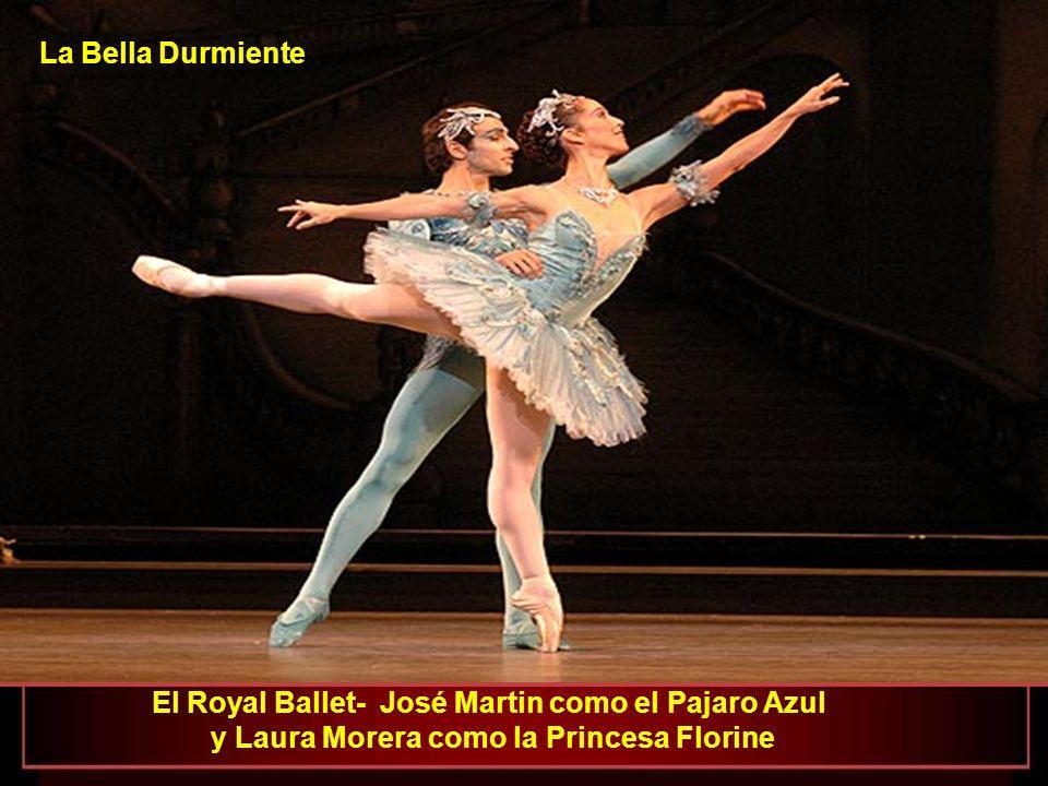 La Bella Durmiente El Royal Ballet- José Martin como el Pajaro Azul y Laura Morera como la Princesa Florine.